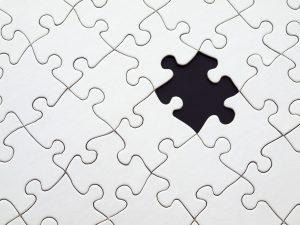 brakujący puzzel